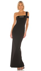 Nookie Alias Gown In Black.