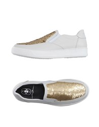 Bb Washed By Bruno Bordese Footwear Low Tops And Trainers Women White