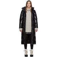 Duvetica Black Down Zuben Coat