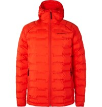 Peak Performance Argon Quilted Shell Jacket Red