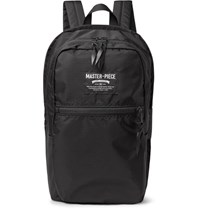 Master Piece Pop 'N' Pack Water Resistant Nylon Ripstop Backpack Black