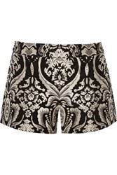 Alice Olivia Jacquard Shorts Black