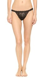 Natori Feathers Thong Black