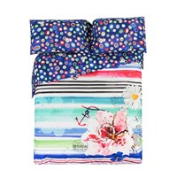 Desigual Blue Summer Duvet Cover Super King