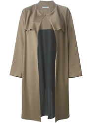 Dusan Layered Trench Style Coat
