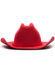 Calvin Klein 205W39nyc Cowboy Hat Red