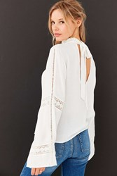 Angie Calilily Blouse Ivory