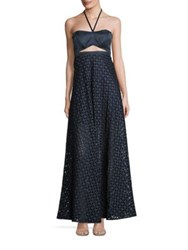 Alexis Abriana Cutout Halter Maxi Dress