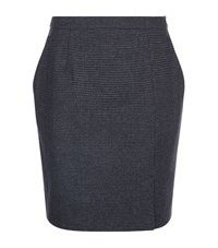 Claudie Pierlot Spirit Pencil Skirt Female Grey