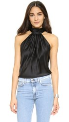 Ramy Brook Paige Blouse Black