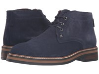 Wolverine Francisco Chukka Navy Suede Men's Boots Blue