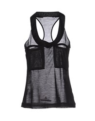 Adidas By Stella Mccartney Adidas By Stella Mccartney Topwear Vests Women Black