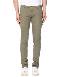 No Lab Casual Pants Military Green
