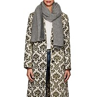 Barneys New York Felted Cashmere Scarf Gray