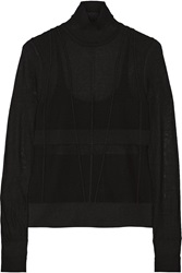 Narciso Rodriguez Silk Blend Turtleneck Sweater