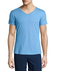 Orlebar Brown V Neck Short Sleeve Tee Riviera