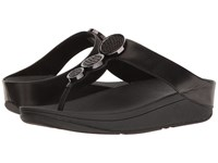 Fitflop Halo Toe Thong Sandals Black Women's Shoes