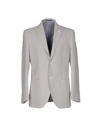 Luigi Bianchi Mantova Blazers Light Grey