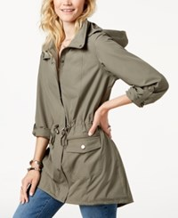 Styleandco. Style Co Hooded Anorak Jacket Sage