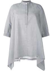 Max Mara Oversized Blouse White