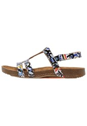 Art I Breathe Sandals Box Multicoloured