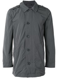 Woolrich Buttoned Jacket Grey
