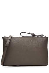 Maison Martin Margiela Leather Shoulder Bag Brown