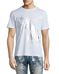 Prps Angel Graphic Short Sleeve Tee White Pattern Size Xx Large