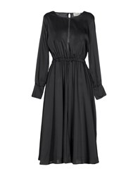 Vicolo 3 4 Length Dresses Black
