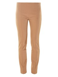 The Row Caro Slit Cuff Stretch Twill Trousers
