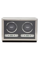 Wolf Double Watch Winder And Case