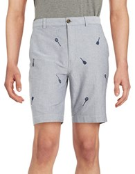 Brooks Brothers Tennis Racket Shorts Blue
