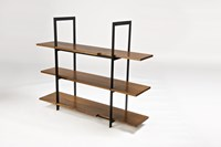 Stylo Furniture And Design Wood And Steel Shelving Unit