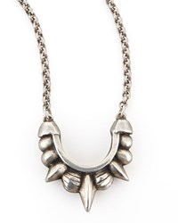 Small Tribal Spike Necklace Pamela Love Silver
