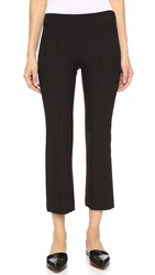 Elizabeth And James Roberta Cropped Pants Black