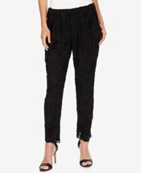 Lucky Brand Embroidered Pull On Pants Lucky Black
