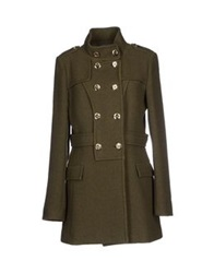 Ice Iceberg Coats Military Green