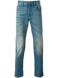 Gucci Medium Washed Jeans Blue