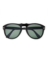 Persol Caffe Crystal Lens Sunglasses Po0649