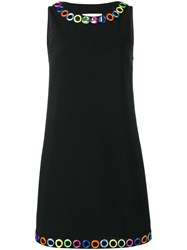 Moschino Mirror Embellished Dress Black