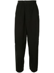 Julius Relaxed Fit Trousers Black