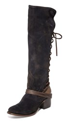 Freebird By Steven Coal Tall Boots Navy