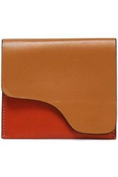 Atp Atelier Two Tone Leather Cardholder Tan
