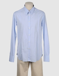 Fred Mello Long Sleeve Shirts Sky Blue