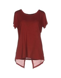Bolongaro Trevor T Shirts Brick Red