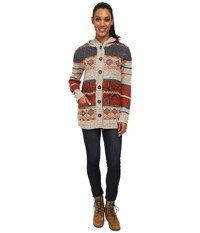 Royal Robbins Mystic Cardi Oatmeal Women's Sweater Brown