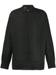 Dolce And Gabbana Button Down Shirt Black
