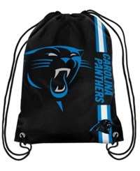Forever Collectibles Carolina Panthers Big Logo Drawstring Bag Black