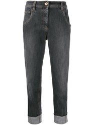 Brunello Cucinelli High Rise Cropped Jeans 60
