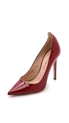 Tamara Mellon Patent Leather Pumps Red